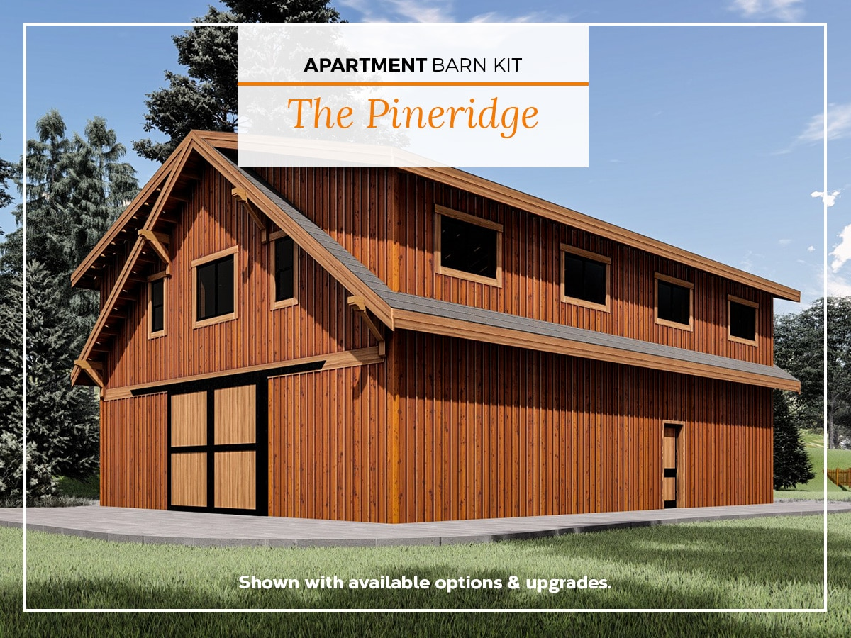 Apartment Barn Kits - DC Structures