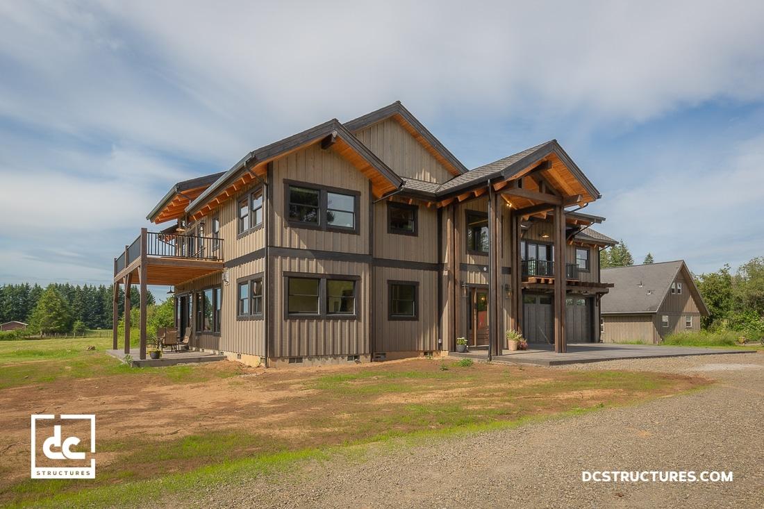 Oregon Timber Frame Home Kit
