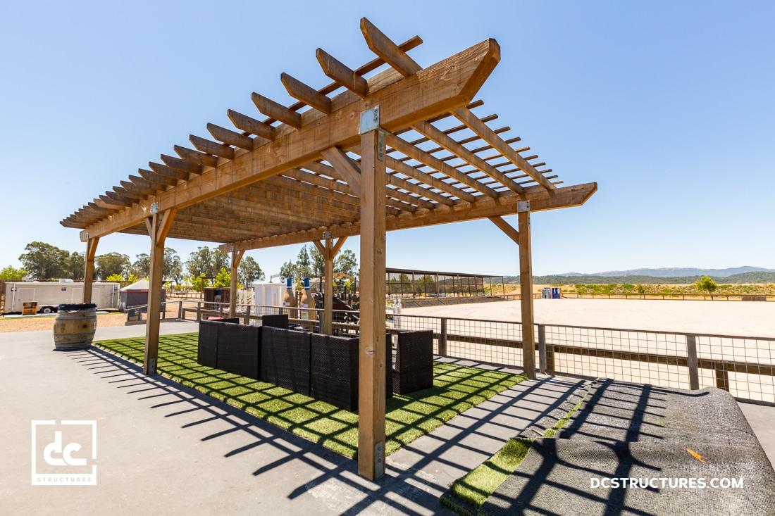 Sonoma Horse Park Pergola