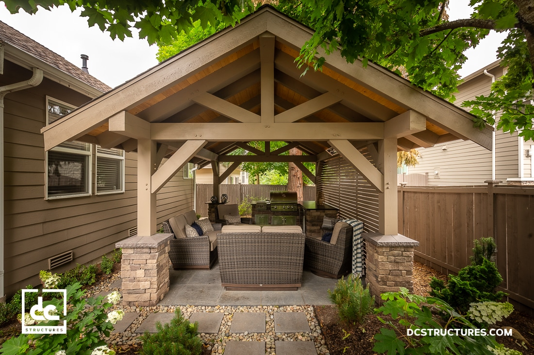 Bothell Backyard Pavilion