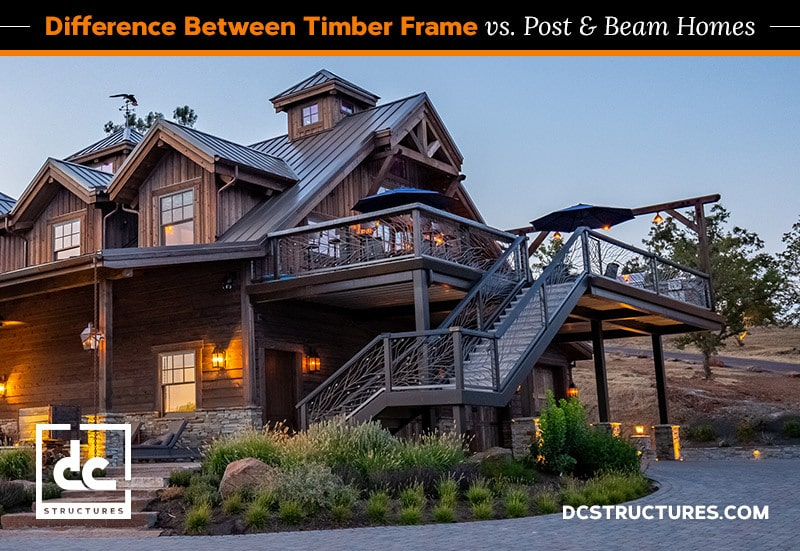 The Difference Between Timber Frame and Post and Beam Homes