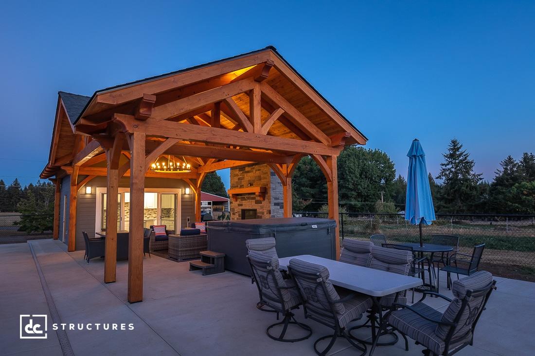 Oregon Custom Pavilion & Pool House